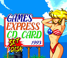 Games Express CD Card 1993